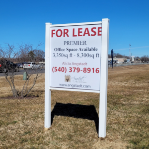 Post & Panel / Real Estate Signs